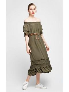 Одяг жіночий Сукня 090720 Л хакі