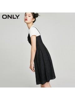 Одяг жіночий сарафан+футболка 040720 Л чорний з білим