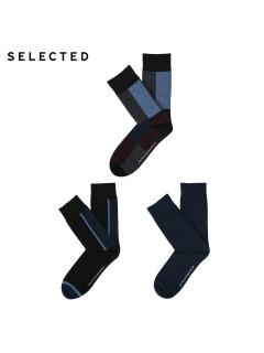 Аксессуар шкарпетки 3в1 250120 ВС т.синій комб.