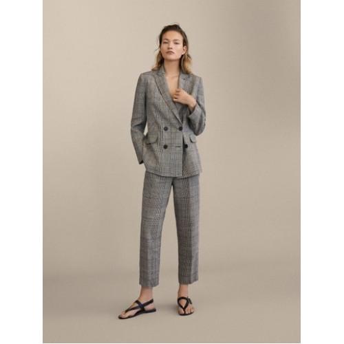 брюки льон Massimo Dutti Іспанія