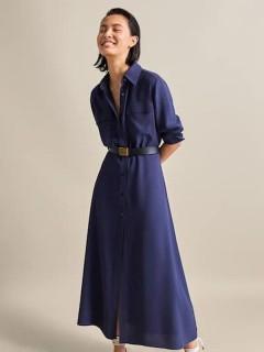 Одяг жіночий Сукня 310820 ОВ т.синій