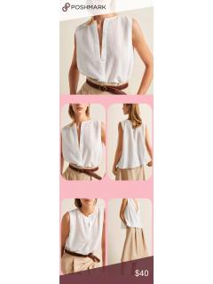 Блуза Massimo Dutti Іспанія