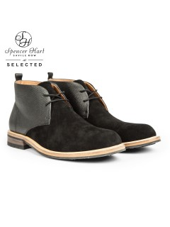 ботинки шкіра Selected Данія